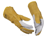 Welding gloves and clothing