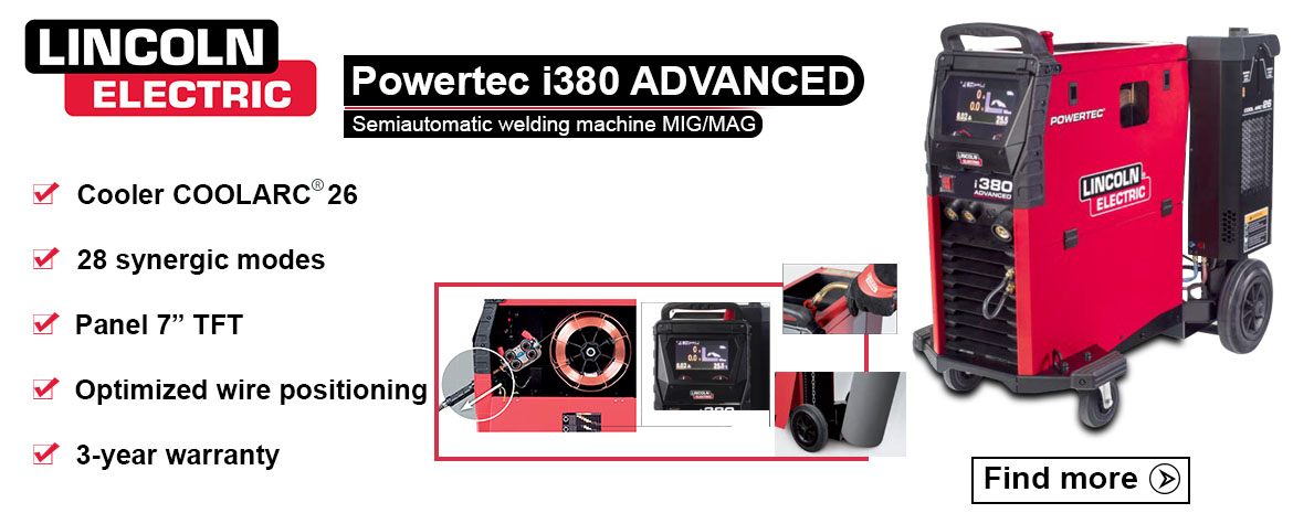 Lincoln Electric Powertec i320C Advanced